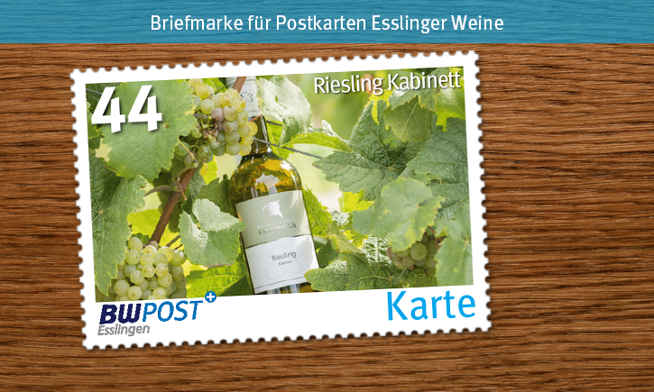 Briefmarken-Motive dunklesHolz 44er